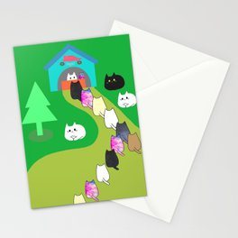 cats shop 243 Stationery Cards