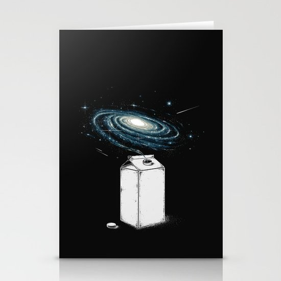 Milky Galaxy Stationery Cards