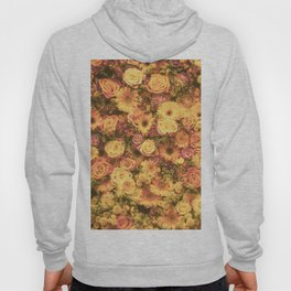 Yellow Floral Hoody
