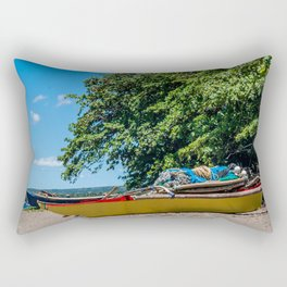 Traditional Filipino Kayak Rectangular Pillow