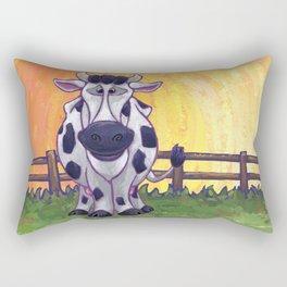 Animal Parade Cow Rectangular Pillow