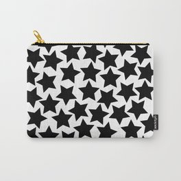 Lots of Black Stars Carry-All Pouch