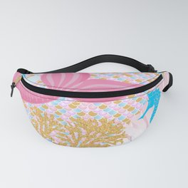 Living a Life as a Mermaid Fanny Pack