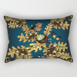 History of the autumn forest_3 Rectangular Pillow