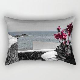 Le long du mur Rectangular Pillow