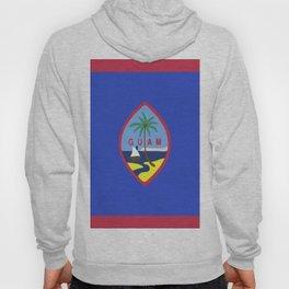 Guam flag emblem Hoody