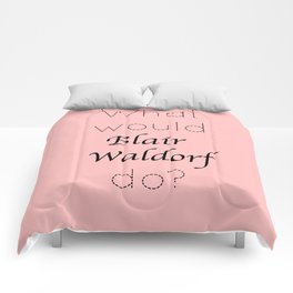 Gossip Girl: What would Blair Waldorf do? - tvshow Comforters
