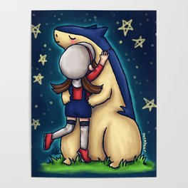 Lyra and Typhlosion Poster