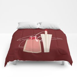 When Red Meets RED Comforters