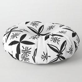 UrbanNesian Black Siapo Floor Pillow