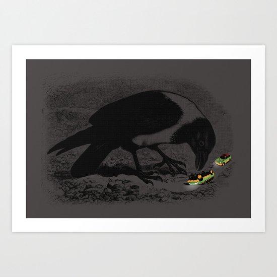 Dinobirds Art Print