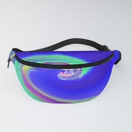 """""""Angry Ocean"""" Photograph Fanny Pack"""