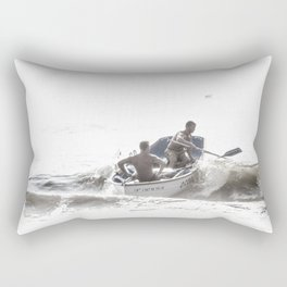 Wave riders Rectangular Pillow