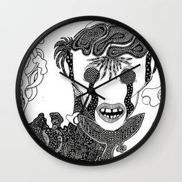 Alter Ego Wall Clock