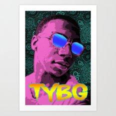 Pixel Art Lil B Art Print