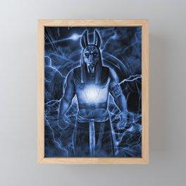 LORD ANUBIS Framed Mini Art Print