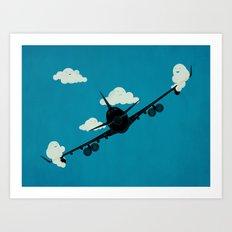 Seesaw in the Sky Art Print