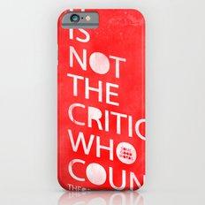 The Critic Slim Case iPhone 6s