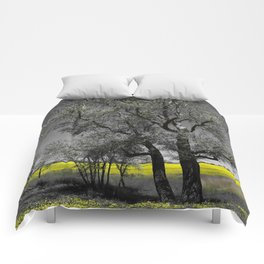 The Beauty of Canola Fields Comforters