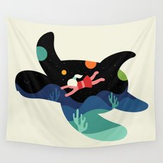 Ocean Roaming Wall Tapestry
