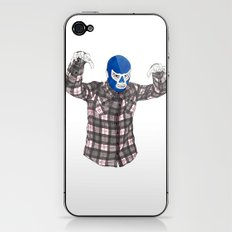 Lumberjack Jack iPhone & iPod Skin