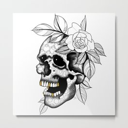 GeoSkully Fuerza Natural Metal Print