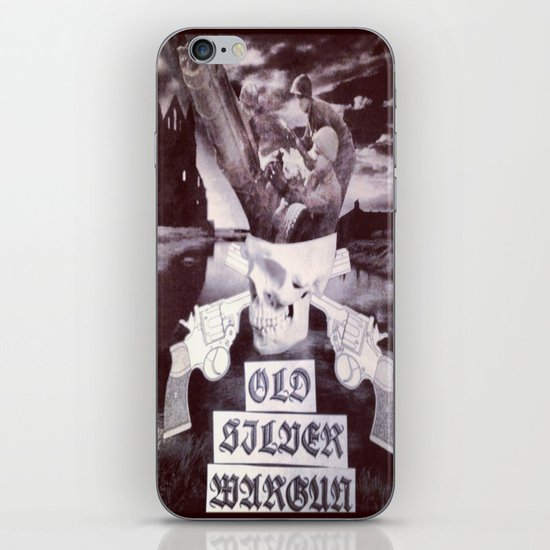 OSWG Blast Masters Plate iPhone & iPod Skin
