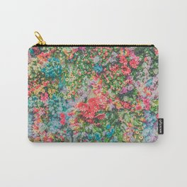 Colorful Variations of Spring Flowers Carry-All Pouch