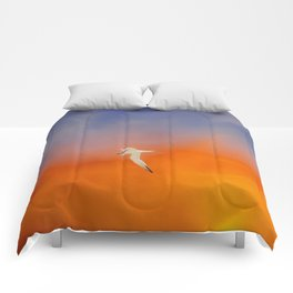 Edge of Sunset Comforters