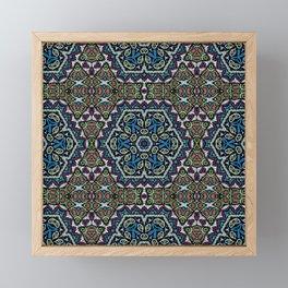 ethnic ornament , Oriental Framed Mini Art Print