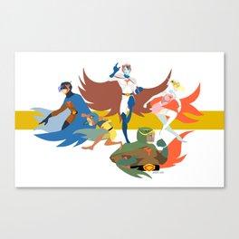 Gatchaman Canvas Print