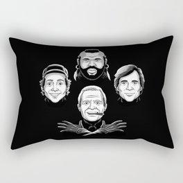 mr t Rectangular Pillow
