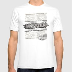 Jeremy MEDIUM Mens Fitted Tee White