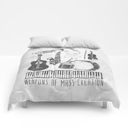 Weapons Of Mass Creation - Music (on paper) Comforters