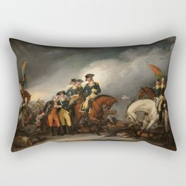 The Capture of the Hessians at Trenton, December 26, 1776 Rectangular Pillow
