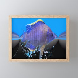 Fish of the Earth Framed Mini Art Print
