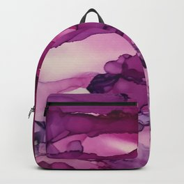 pink hazy day Backpack