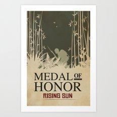 Medal of Honour - Rising Sun Art Print