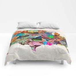 USA Map Comforters