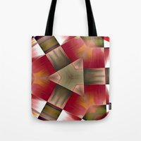 pyramid Tote Bags featuring Pyramid by Deborah Janke