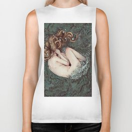 The Birth of Venus Biker Tank