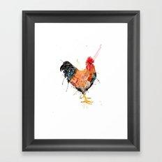 Mr Rooster  Framed Art Print
