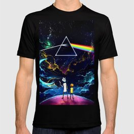 The dark side of a man and a boy T-shirt