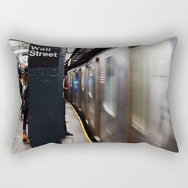 Wallstreet Subway Rectangular Pillow