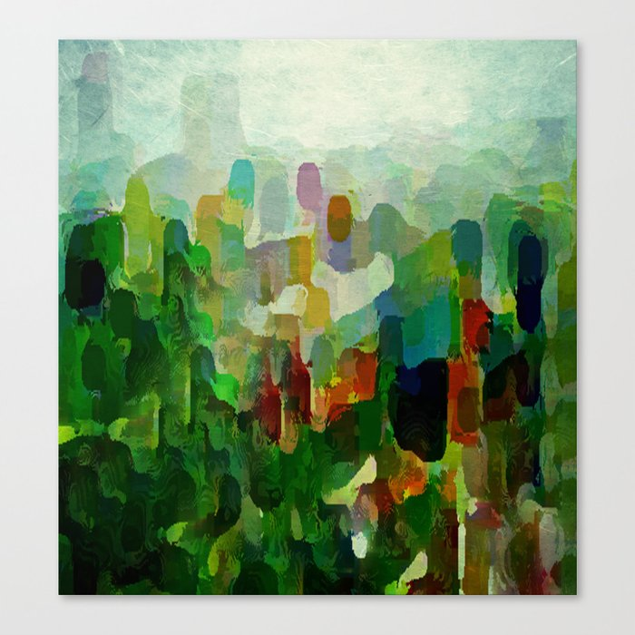City Park Canvas Print