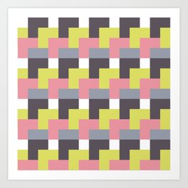 squared city Art Print
