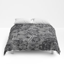 Scribble Mechanic Comforters
