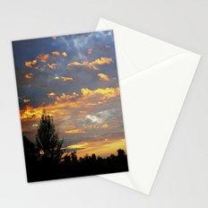 Fiery Sunset Stationery Cards