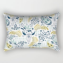 Bohemian Rhapsody White Rectangular Pillow
