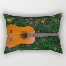 Music of autumn Rectangular Pillow